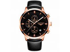 Мужские часы Guanquin 8801 Черный
