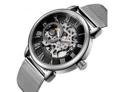 Мужские часы Orkina 1160 Серебристые