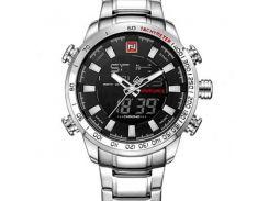 Мужские часы Naviforce 1275 Silver