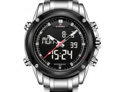 Мужские часы Naviforce 1297 Silver