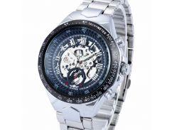 Мужские часы Winner 1535 Silver