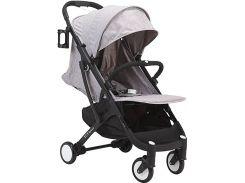 Прогулочная коляска Yoya Plus Серая с черной рамой (670064996)