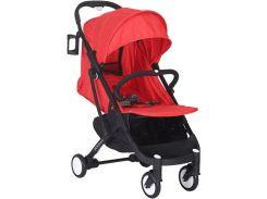 Прогулочная коляска Yoya Plus Красная с черной рамой (670064719)