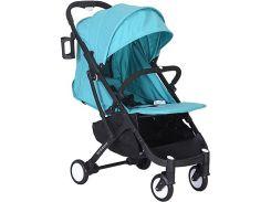Прогулочная коляска Yoya Plus Голубая с черной рамой (670063710)