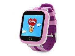 Умные детские часы SBW Q100s Розовые (wfb100sp)