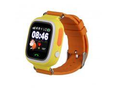 Умные детские часы SBW Q100 Желто-оранжевые (wfb100y)