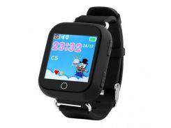 Умные детские часы SBW Q100s Черные (wfb100sbl)
