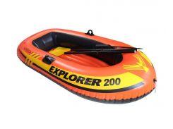 Лодка надувная Intex 58331 EXPLORER 200 на 2 Красный (int58331)