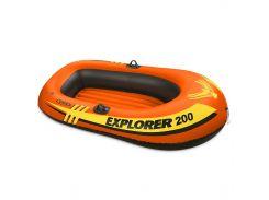 Лодка надувная Intex 58330 EXPLORER 200 на 2 человека Красный (int58330)