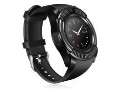 Часы Smart Watch Phone V8 Черные (8807)