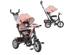 Велосипед детский Profi Turbo Trike M 3115HA-10 Светло-розовый