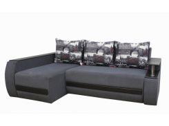 Угловой диван Garnitur.plus Граф серый 245 см (DP-251)