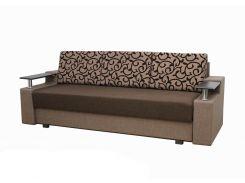 Диван Garnitur.plus Еврокнижка 1 коричневый 230 см (DP-86)