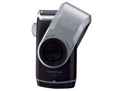 Электробритва BRAUN MobileShave M-90 Черный с серым (F00081818)