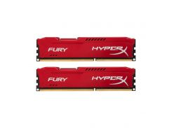 Оперативная память Kingston HyperX Fury 8GB (2x4GB) Red (HX316C10FRK2/8)