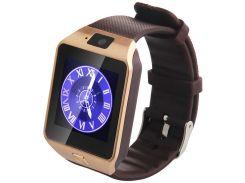 Умные часы Uwatch DZ09 Gold Edition (1-748300)