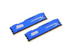 Оперативная память Kingston DDR3 8Gb (2x4GB) 1600 MHz HyperX Fury Blue (HX316C10FK2/8)
