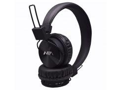 Беспроводные Bluetooth наушники NIA-X3 с MP3 плеером радио Черный (60_45379)