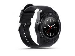 Умные часы UWatch SmartWatch SW V8 Black (70_1342600)
