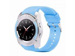 Умные часы UWatch SmartWatch SW V8 Blue (70_1342700)
