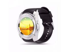 Умные часы UWatch SmartWatch SW V8 Silver (70_1348900)