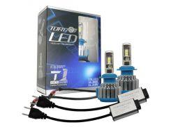 Автолампы светодиодные Turbo LED T1 H1 5000K 35W (25830)