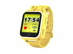 Детские часы с GPS Smart Baby Watch Q200 Желтые (tdx0000287)