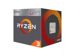 Процессор AMD Ryzen 3 2200G (3.5GHz 4MB 65W AM4) Box (2814-7489)