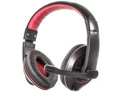Наушники с микрофоном Soyto SY722MV Black/Red (1357-6026)