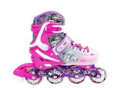 Роликовые коньки Nils Extreme NJ1812A Size 39-43 Pink (NJ1812A-PNK_S39-43)
