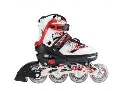 Роликовые коньки Nils Extreme NJ3012A Size 30-33 Red (NJ3012A-RD_S30-33)