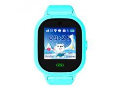 Водонепроницаемые Умные детские часы Smart Baby Watch TD05 Голубые (TD05-b)