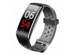 Фитнес-браслет Smart Band UMax Q8S Тонометр Серый (XKiw42663)