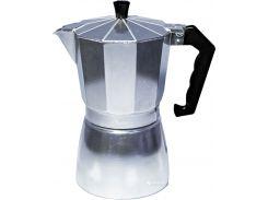 Гейзерная кофеварка Con Brio CB6106 300 мл Silver (to7041i10051)