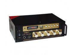 Усилитель звука Bluetooth UKC SN 222 BT Black (008335)