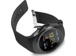 Смарт-часы с сим-картой UWatch Y1 Black (2805-8592)