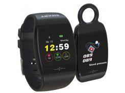 Фитнес-браслет Smart Band HP-P1 Черный (DX-1021)