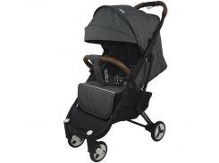 Детская прогулочная коляска YoyaPlus 3 Темно-серая (959772279)