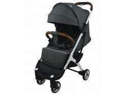 Детская прогулочная коляска YoyaPlus 3 Темно-серая (959762153)