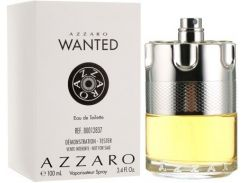 Мужской парфюм Azzaro Wanted edt 100 ml Tester (BT14222)
