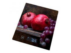 Весы для кухни GRUNHELM  KES-1PGA с рисунком (83836)
