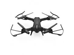 Квадрокоптер Lishitoys L6060W складной с камерой HD 720P и WIFI Черный (56123)
