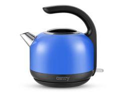электрочайник металлический camry 1.7 литр синий (cr 1256b)