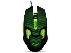 мышь esperanza mouse mx207 cobra egm207g зеленый (4884176)