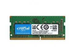 Оперативная память Crucial DDR4 2400 8GB SO-DIMM 260 pin Retail CT8G4SFS824A (5365739)