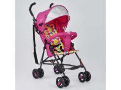 Коляска прогулочная JOY S 108 T Розовый (IG-47783)