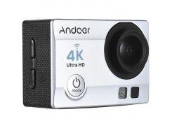 Экшн камера Action Camera Q3H с пультом 24 крепления Grey (dr3556)