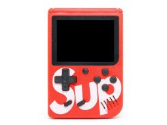 Игровая приставка портативная ретро 400 игр dendy денди SEGA 8bit SUP Game Box красная (hub_JZAt74076)