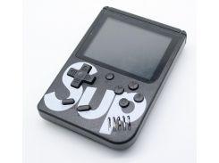 Игровая приставка портативная ретро 400 игр dendy денди SEGA 8bit SUP Game Box Черная (hub_mLFO14433)