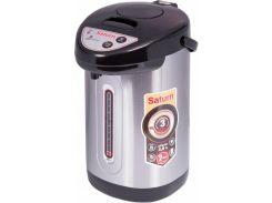 термопот saturn st-ek8031 3.8 л, 800 вт 3 режима дозировки воды серебристый (34-40218)